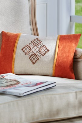 Rohit Embroidered Pillow