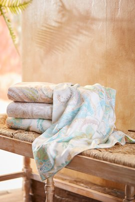 Blissful Bamboo Paisley Sheet Set