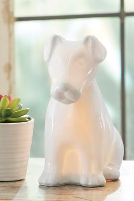Chien Accent Lamp