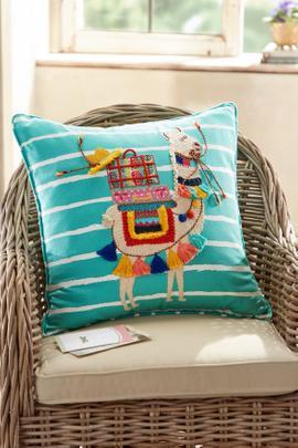 Festive Llama Pillow