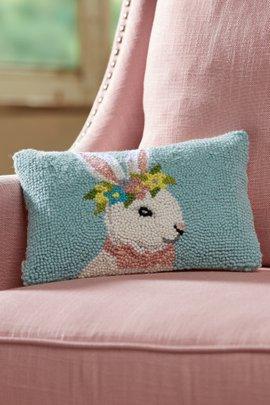 Beau Bunny Hook Pillow