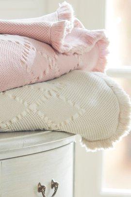 Rochelle Fringed Blanket