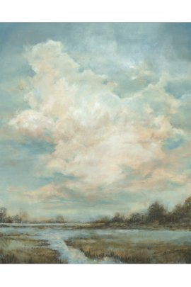 Clouds over the Marsh Giclée