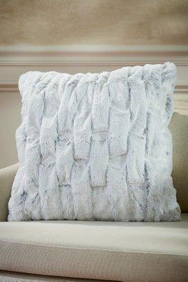 La Parisienne Faux Fur Square Pillow