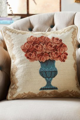 Abigail Gros Point Pillow