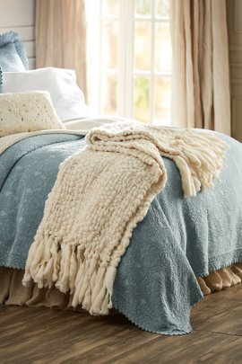 Townsend Hand-Loomed Home Accent Scarf