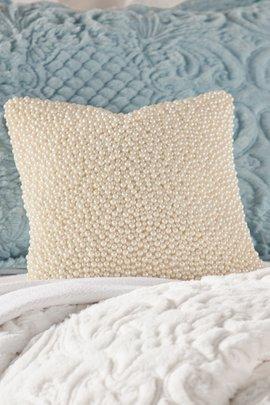 Dahna Faux Pearl Pillow