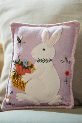 Betty Bunny Pillow