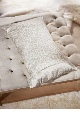 Printed Silk Pillowcase