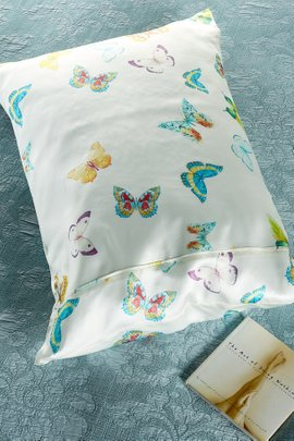 Printed Silk Pillowcase