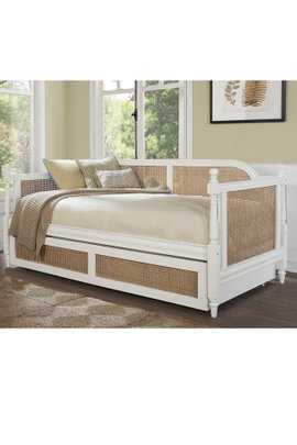 Huntington Caned Daybed with Trundle