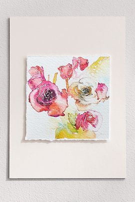 In Bloom Deckled Edge Print