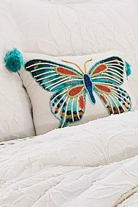Farfalla Beaded Pillow