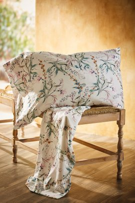 Blissful Bamboo Liliana Floral Extra Pillowcase Pair