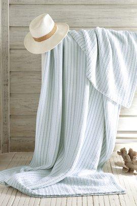 Deauville Striped Blanket