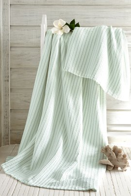 Deauville Striped Blanket