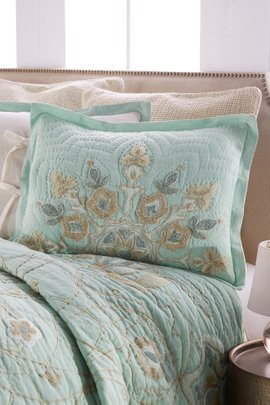 Isabel Embroidered Bed Sham