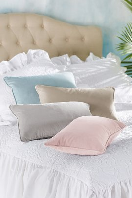 Velvet Accent Pillow