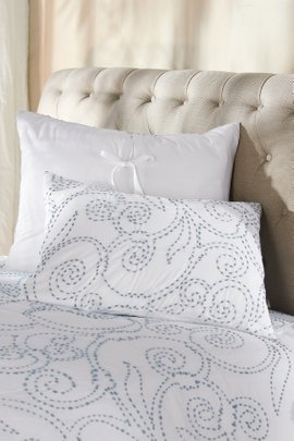 Camila Kantha Stitch Bed Sham