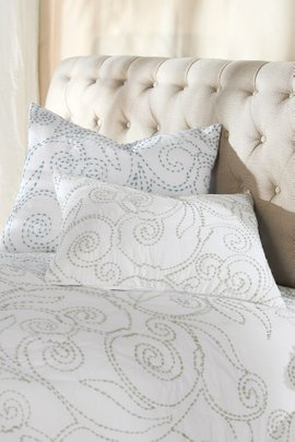 Camila Kantha Stitch Quilted Bed Sham