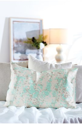 Printed Silk Pillowcase I