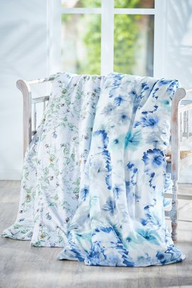 Blissful Bamboo Printed Duvet Cover