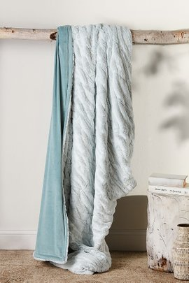 Caline Faux Fur Throw