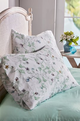 Blissful Bamboo Printed Extra Pillowcase Pair