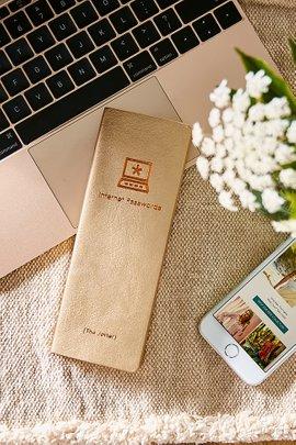 Internet Passwords Journal