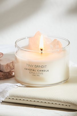 Mini Crystal Candle