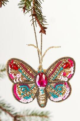 Beaded Moth Ornaments