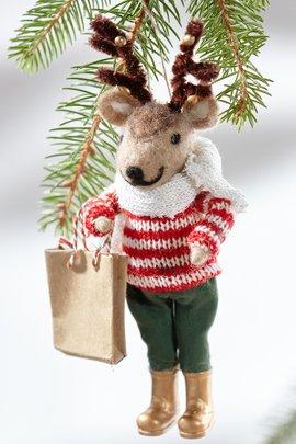 Ralph the Reindeer Ornament