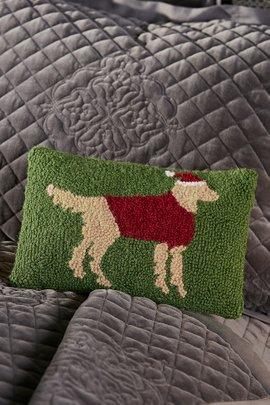 Santa Lab Pillow