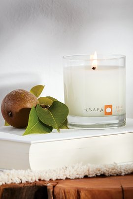 Trapp Fireside Pumpkin Candle