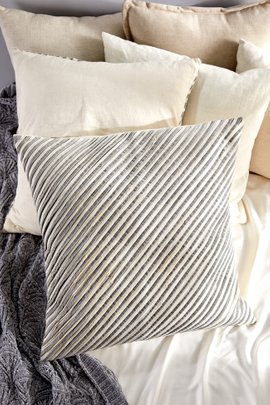 All Lined Up Striped Euro Sham