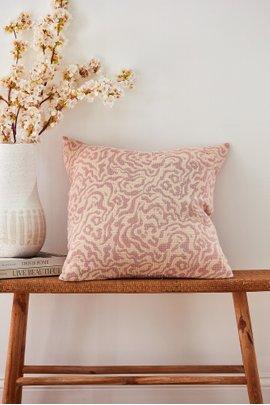 Mara Rose Cotton Pillow