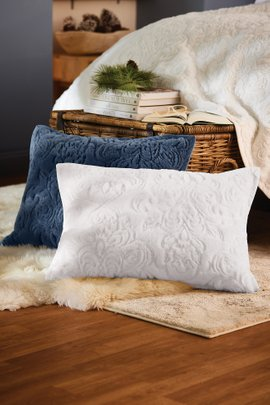 Chamonix Fur Bed Sham