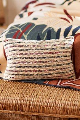 Reclaimed Sari Rectangle Decorative Pillow