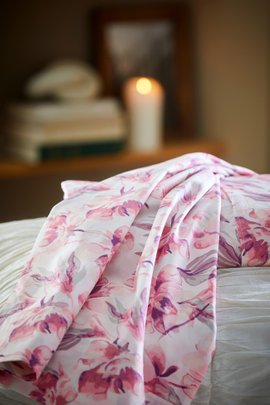 Organic Cotton Radiant Blooms Sheet Set