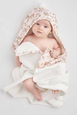 Organic Baby Bath Wrap