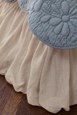Linen Balloon Bedskirt