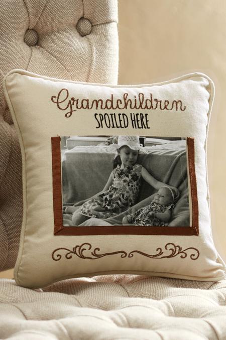 Grandchildren Spoiled Here Pillow