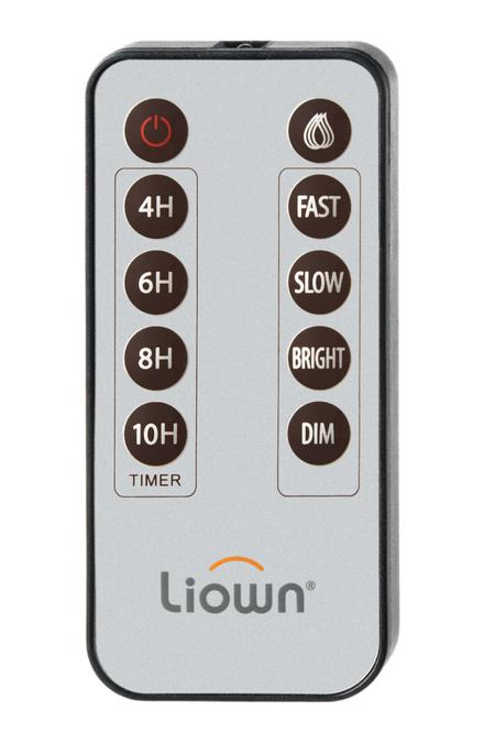 Push Flame Multi-Function Remote