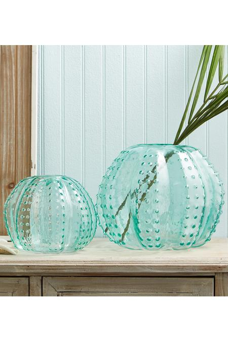 Sea Urchin Glass Vase