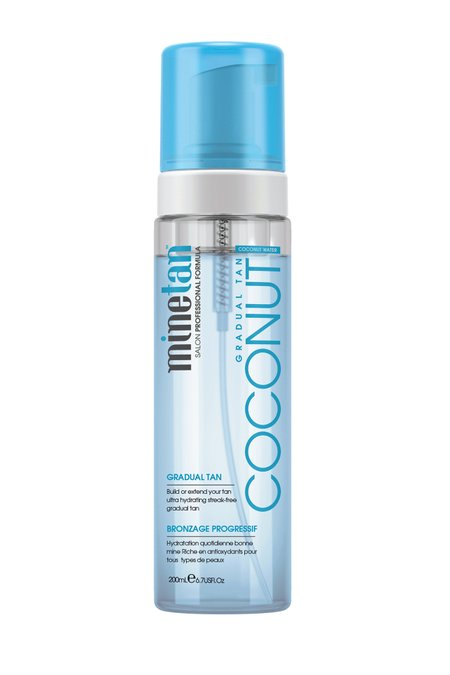 Marque of Brands MineTan Coconut Water Gradual Self-Tan Foam