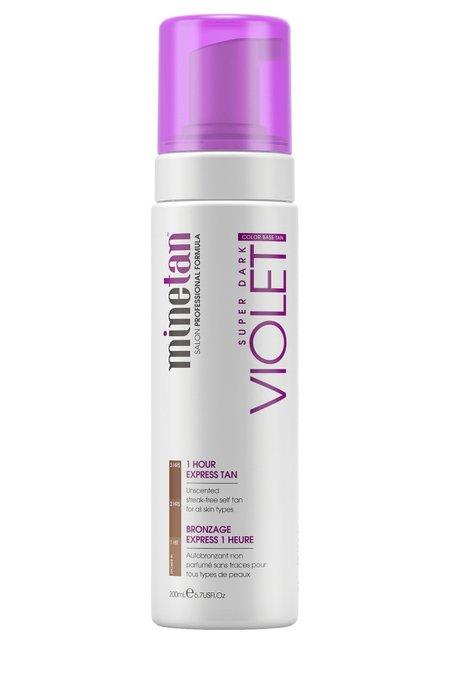 Minetan Violet Express Tan Foam