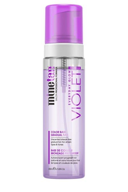 Minetan Violet Gradual Tan Foam