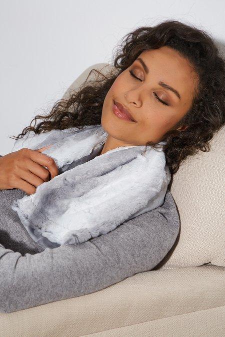 Faux Angora Lavender Spa Heat Wrap
