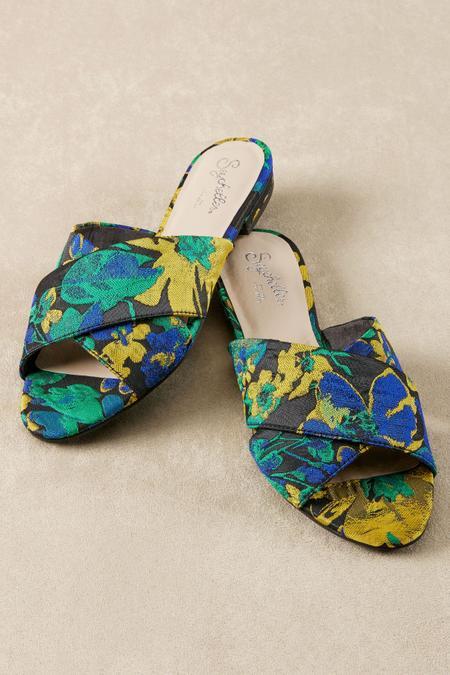 seychelles continental slides brocade slides floral slides soft