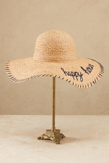 Happy Hour Straw Hat